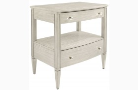 Coastal Living Oasis Oyster Mulholland Nightstand