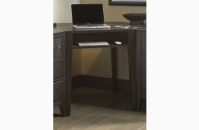 Autumn Oaks II Black Corner Desk
