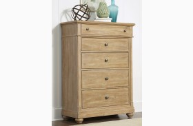 Harbor View Sand 5 Drawer Chest