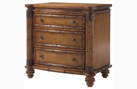 Island Estate Plantation Brown Barbados Nightstand