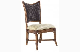 Island Estate Plantation Brown Mangrove Side Chair