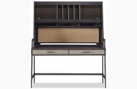 MyRoom Chalkboard and Backpack Desk With Hutch