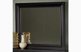 Reflections Ebony Landscape Mirror