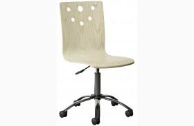 Driftwood Park Vanilla Oak Desk Chair
