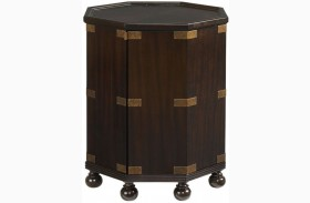 Royal Kahala Pacific Campaign Accent Table