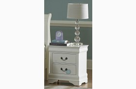 Marianne White Nightstand