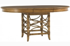 Beach House Coconut Grove Extendable Round Dining Table