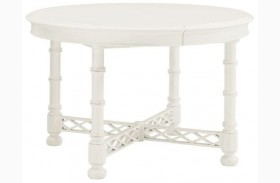 Ivory Key Knapton Hill Extendable Round Dining Table