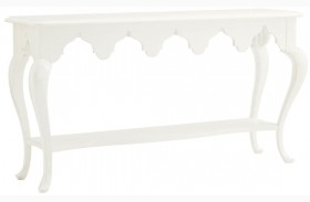 Ivory Key Gunners Reef Console Table