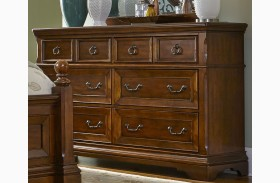 Laurelwood Chestnut 6 Drawer Dresser