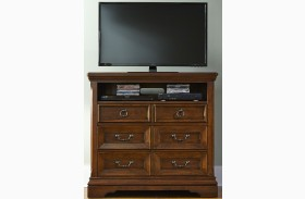 Laurelwood Chestnut Media Chest