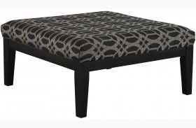 Cresson Pewter Oversized Accent Ottoman