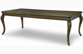 Renaissance Waxed Oak Extendable Leg Dining Table