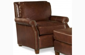 Kingston Vintage Auburn Leather Chair