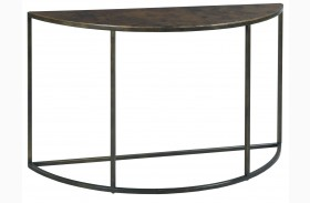 Sanford Acid Washed Copper Top Sofa Table