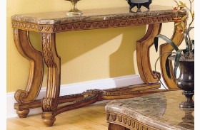 Tarantula Sofa Table_ with Marble Top
