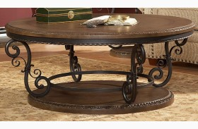 Harman Heights Round Cocktail Table