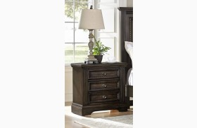 Affinity Dark Roast 2 Drawer Nightstand