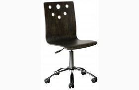 Smiling Hill Licorice Desk Chair