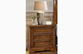 Affinity Antique Cherry 2 Drawer Nightstand