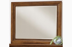 Affinity Antique Cherry Landscape Mirror