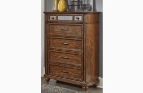 Coronado Tobacco 5 Drawer Chest