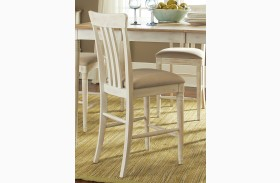 Bluff Cove II Slat Back Counter Chair Set of 2