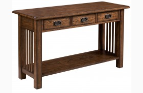 Canyon Ii Mid Tone Oak Sofa Table