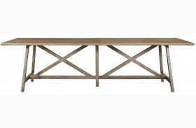 Authenticity Khaki Reunion Dining Table