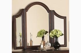 Arbor Place Brownstone Tri View Vanity Mirror