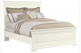Teaberry Lane Stardust Queen Panel Bed