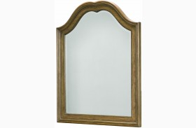 Danielle French Laundry Arched Mirror