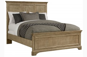 Chelsea Square French Toast Queen Panel Bed