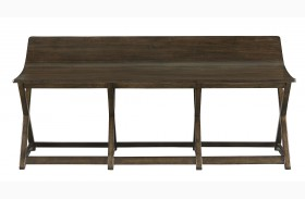 Santa Clara Burnished Walnut Bed End Bench