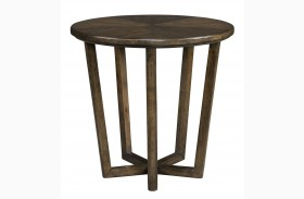 Santa Clara Burnished Walnut Lamp Table