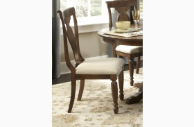 Rustic Tradition Splat Back Side Chair Set of 2