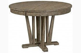 Foundry Extendable Round Dining Table
