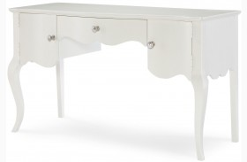 Tiffany Pearlized White Desk