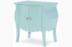 Tiffany Powder Blue Door Nightstand