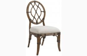 Bali Hai Cedar Key Oval Back Side Chair