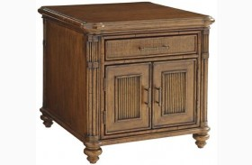 Bali Hai Mariner Storage End Table