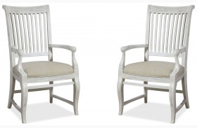 Dogwood Blossom Arm Chair Set of 2