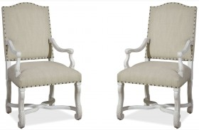 Dogwood Blossom Paula And Michaels Host And Hostess Chair Set of 2