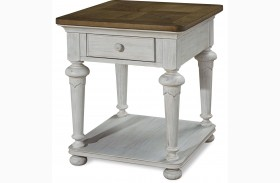 Dogwood Blossom End Table