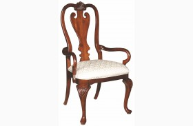 Carriage House Queen Anne Arm Chair Set of 2