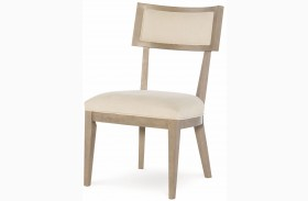 High Line Greige Klismo Side Chair Set of 2