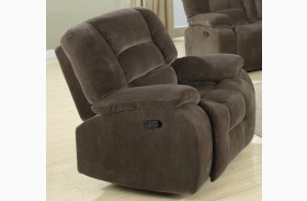 Charlie Brown Sage Glider Recliner