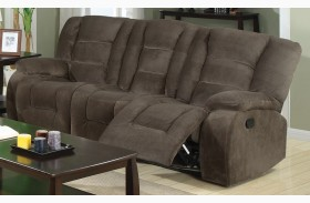 Charlie Brown Sage Reclining Sofa