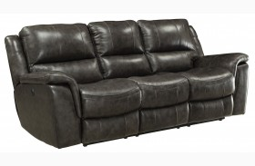 Wingfield Charcoal Power Reclining Sofa