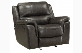 Wingfield Charcoal Recliner